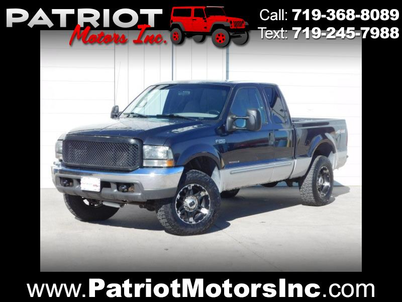 1999 Ford F-250 SD XLT SuperCab Short Bed 4WD