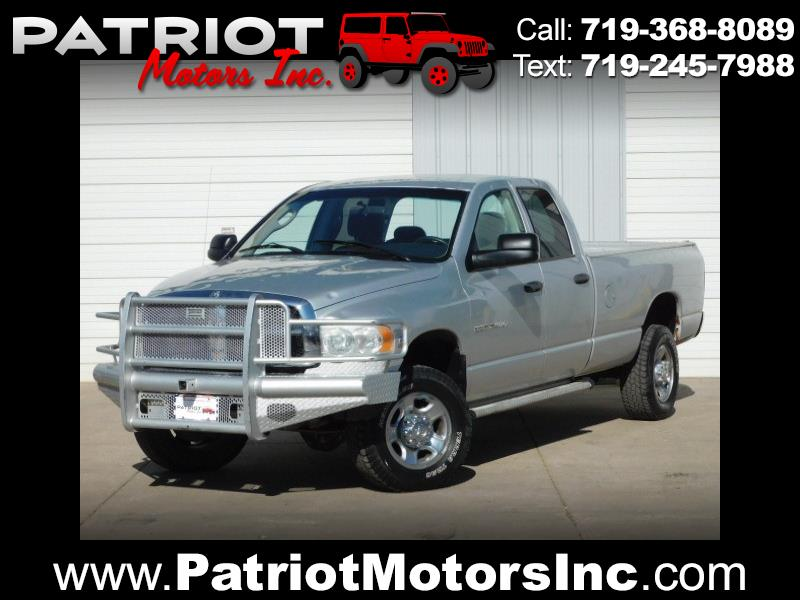 Dodge Ram 2500 SLT Quad Cab Long Bed 4WD 2004