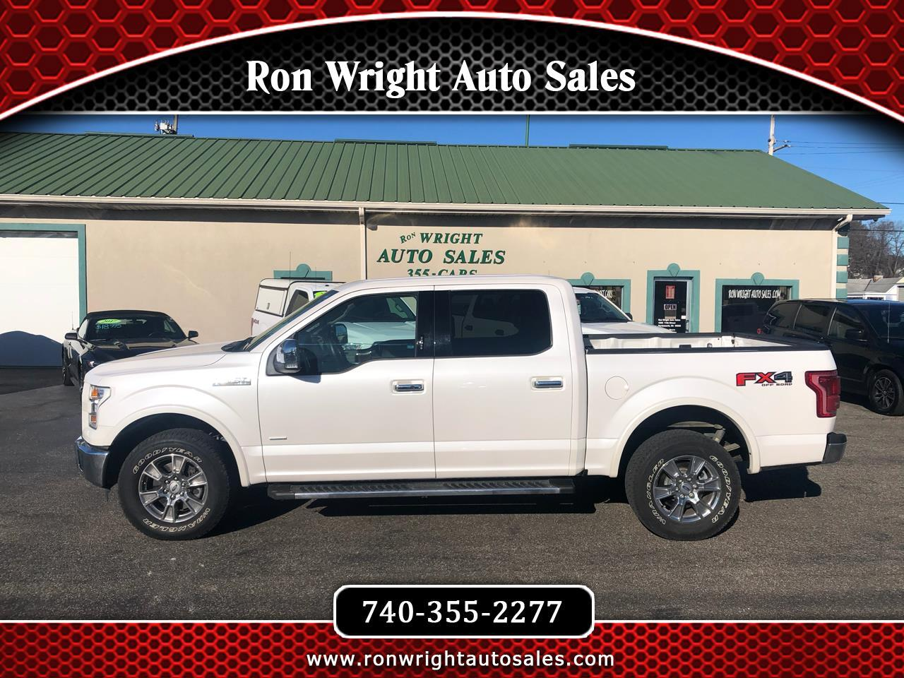 "Ford F-150 4WD SuperCrew 139"" Lariat 2015"