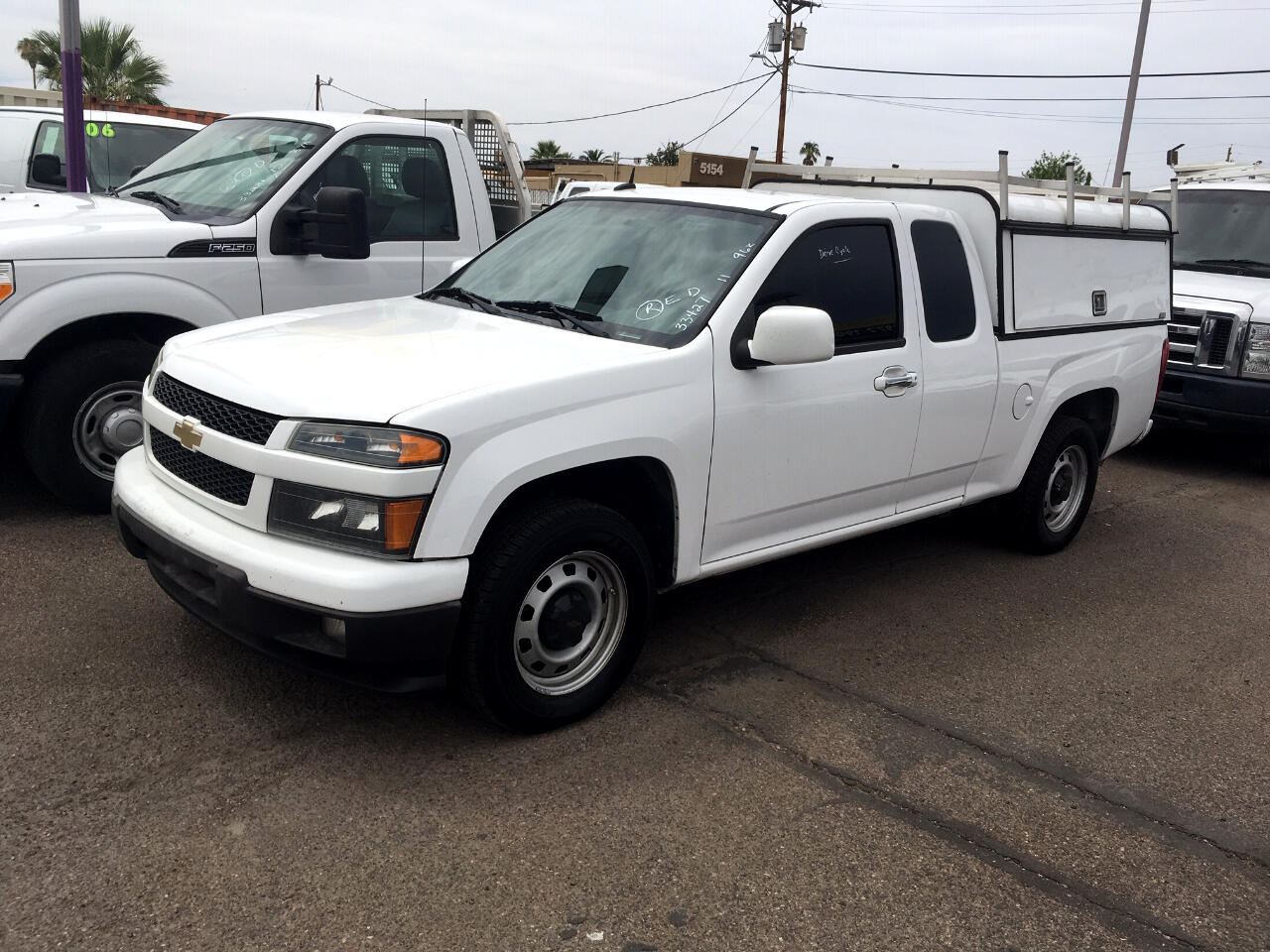 "2011 Chevrolet Colorado 2WD Ext Cab 125.9"" Work Truck"