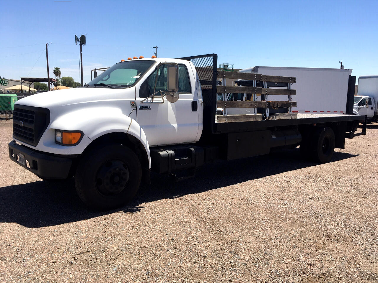 2003 Ford Super Duty F-650 Reg Cab XL, 26,000 GVWR