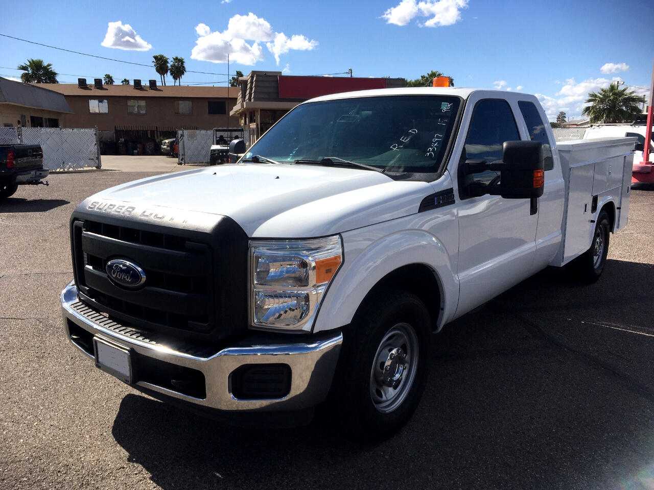 "Ford Super Duty F-350 SRW 2WD SuperCab 158"" XL 2015"