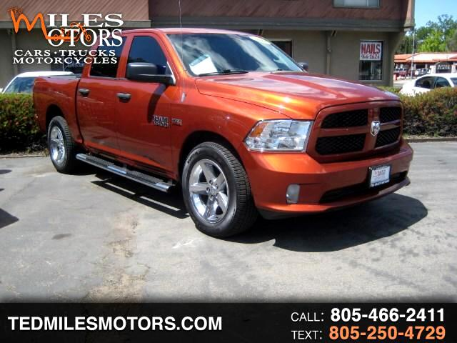 2013 RAM 1500 EXPRESS CREW CAB 2WD SHORT BED
