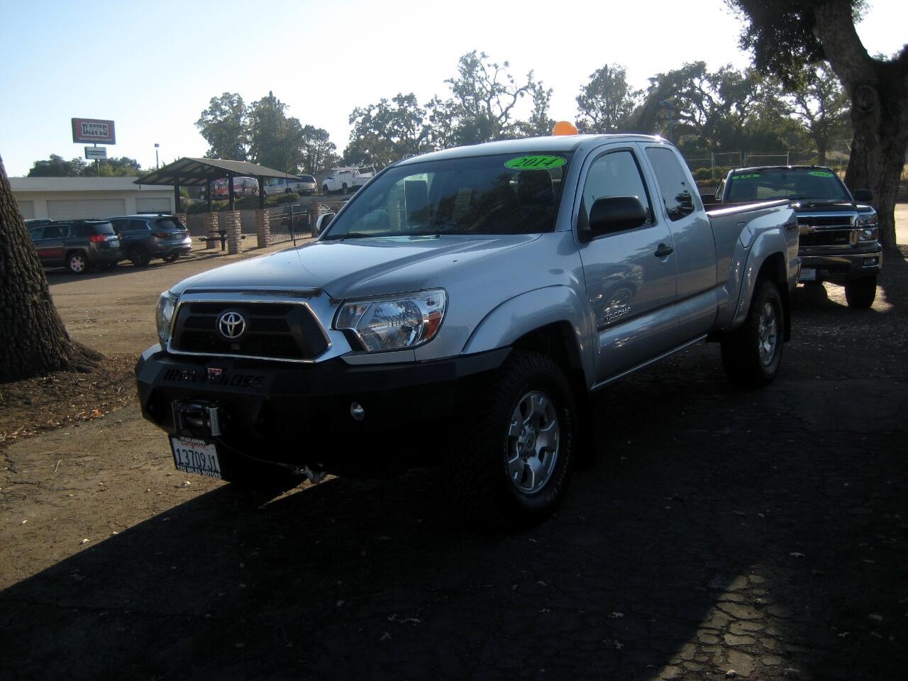 2013 Toyota Tacoma 4WD Access Cab V6 AT (Natl)