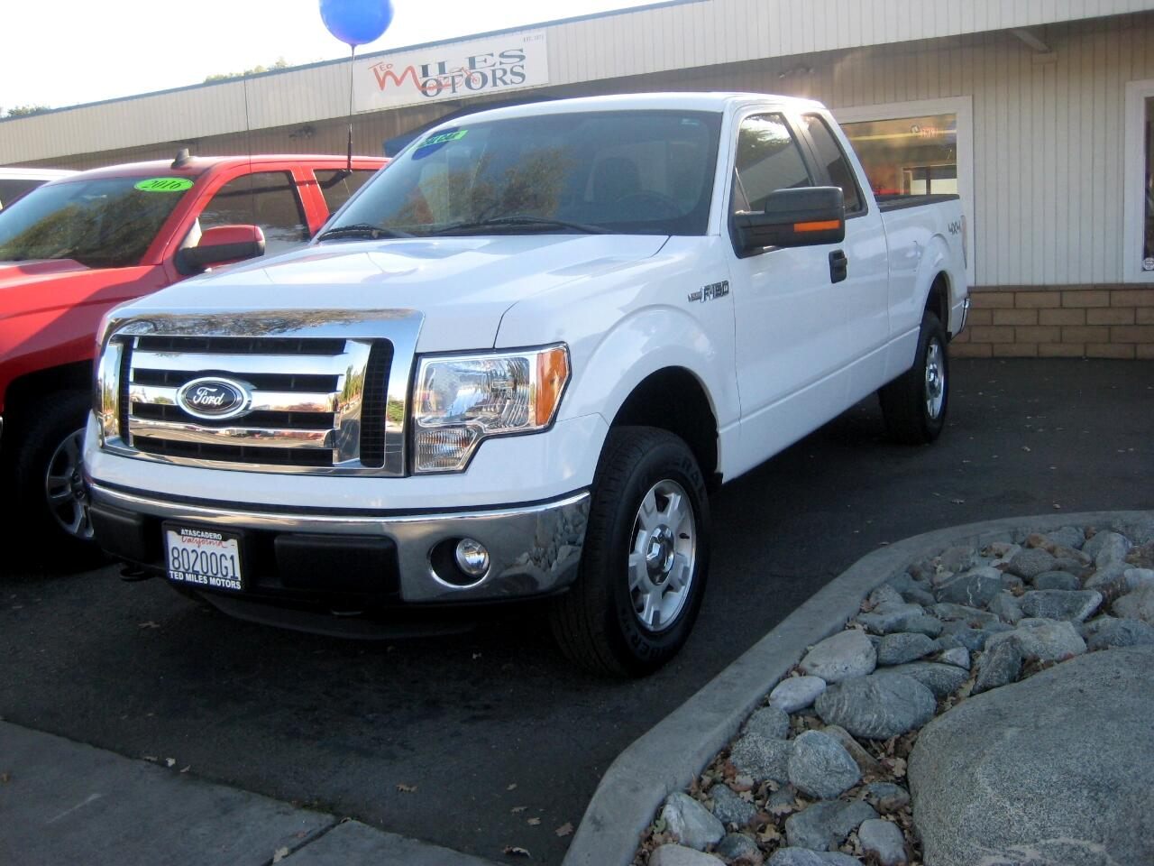 "2012 Ford F-150 4WD SuperCab 145"" XLT"