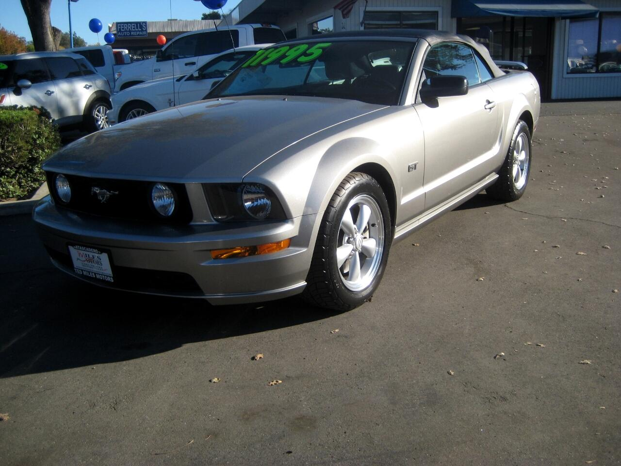 2008 Ford Mustang 2dr Conv GT Deluxe