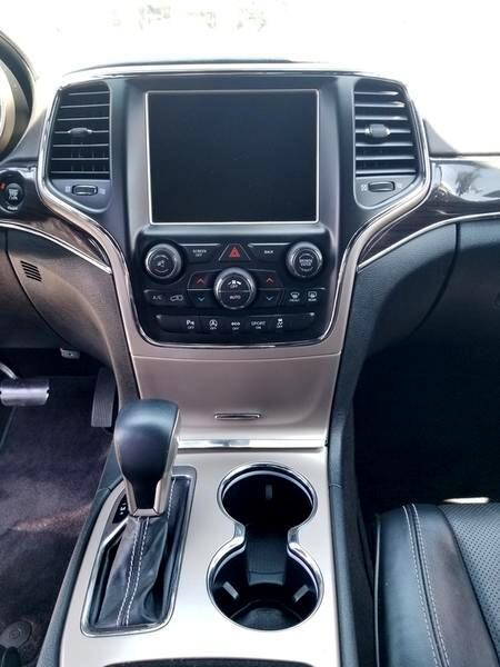 2016 Jeep Grand Cherokee RWD 4dr Overland