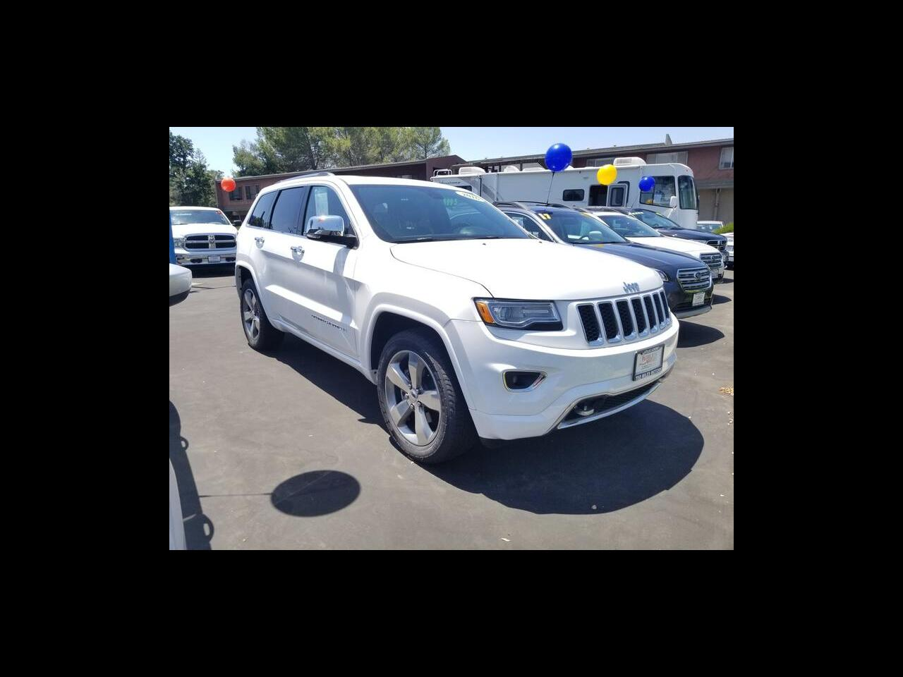 2016 Jeep Grand Cherokee RWD 4dr Overland