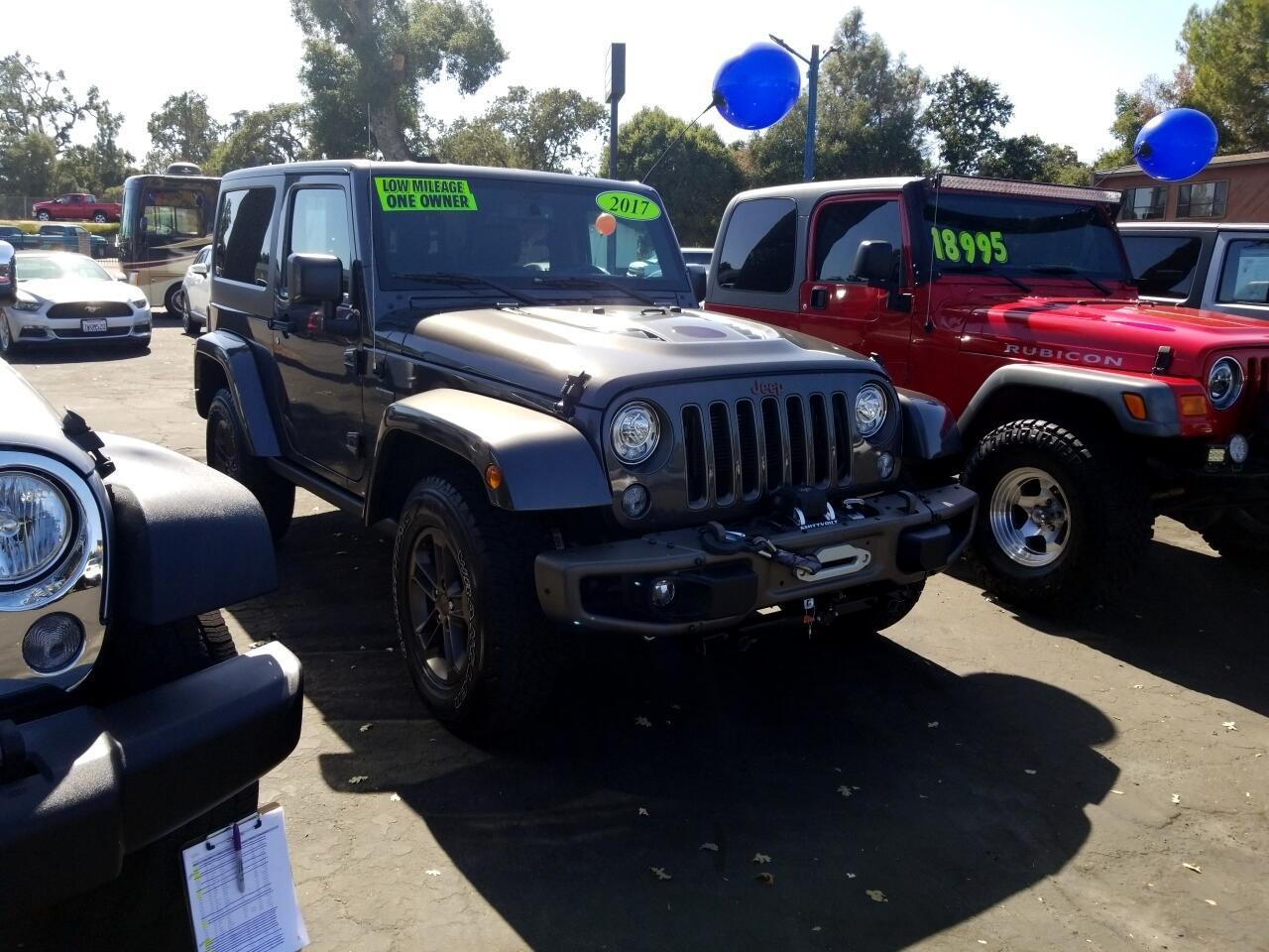 2017 Jeep Wrangler 75th Anniversary 4x4 *Ltd Avail*