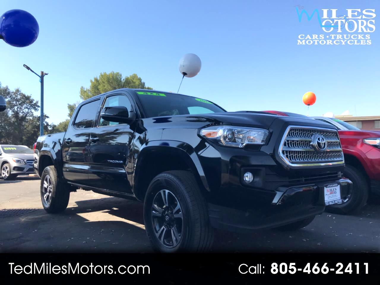 Toyota Tacoma TRD Sport Double Cab 5' Bed V6 4x4 AT (Natl) 2017