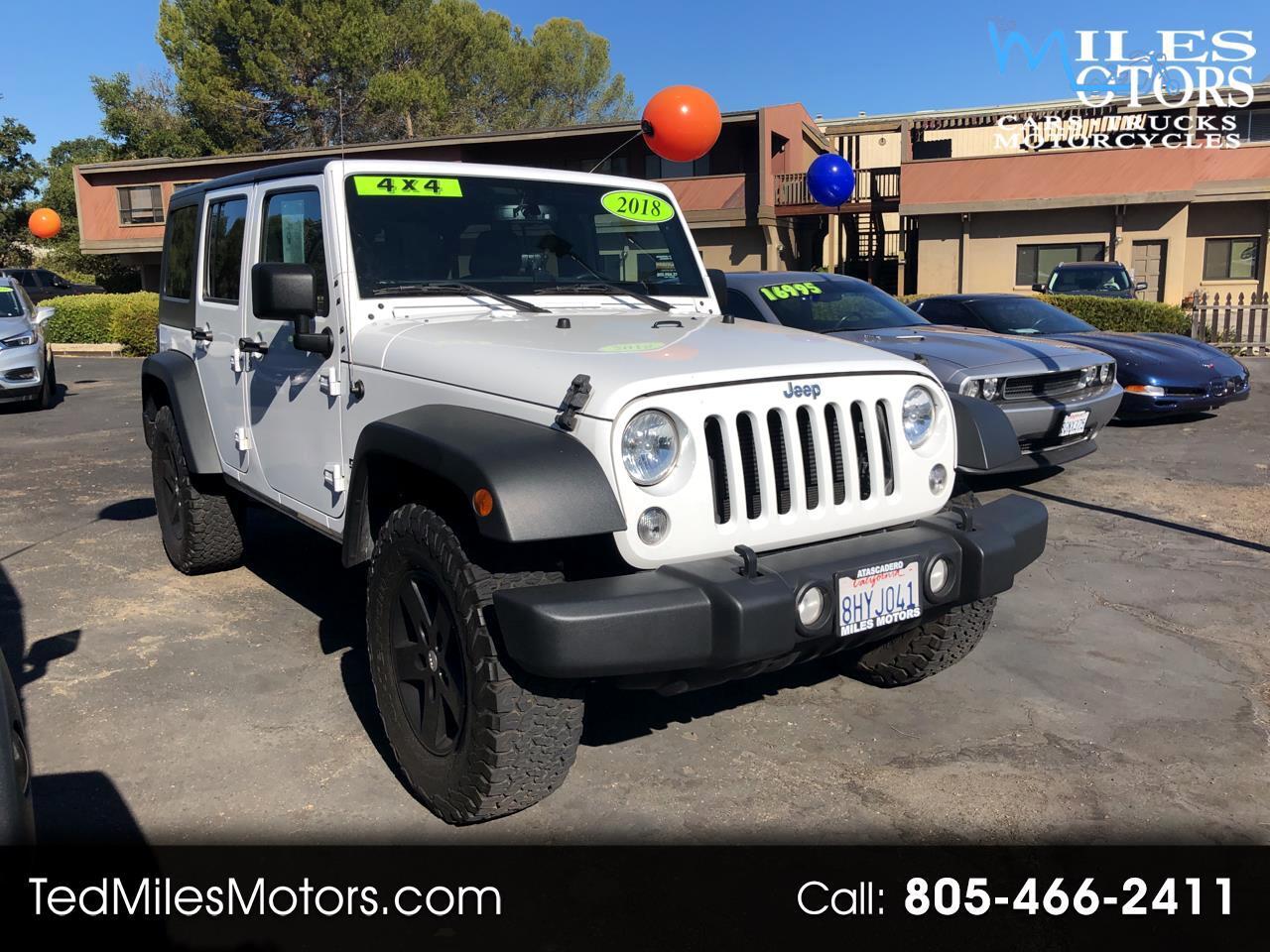 Jeep Wrangler JK Unlimited Sport S 4x4 2018