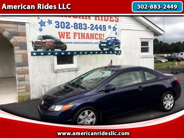 2006 Honda Civic LX Coupe AT