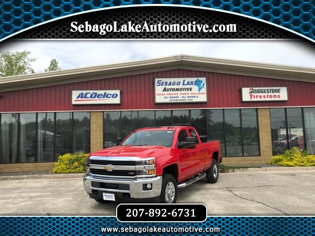 2016 Chevrolet Silverado 2500HD LT Double Cab Long Box 4WD