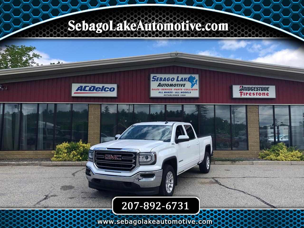 2018 GMC Sierra 1500 SLE Crew Cab Long Box 4WD