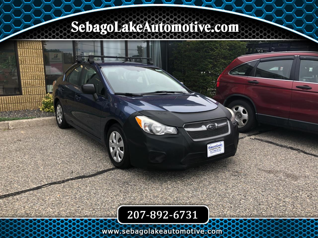 Subaru Impreza Base 4-Door 2013
