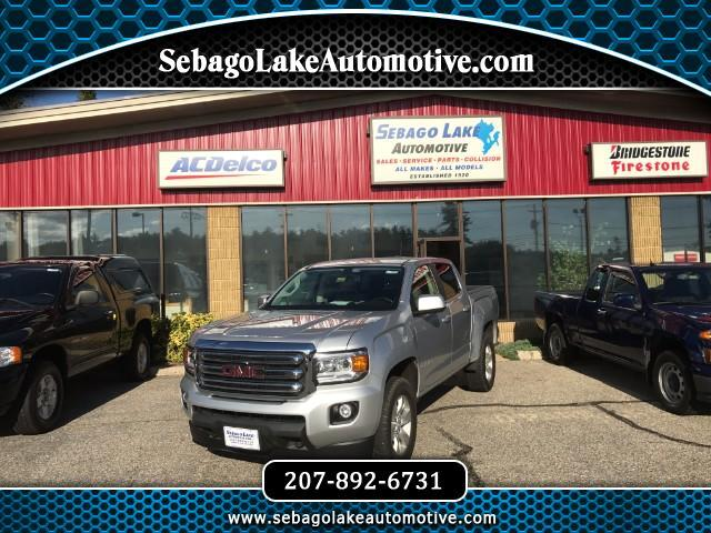 2015 GMC Canyon SLE Crew Cab 4WD Short Box