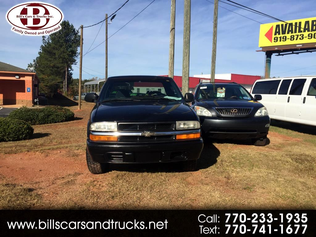 2000 Chevrolet S-10 Ext Cab 123