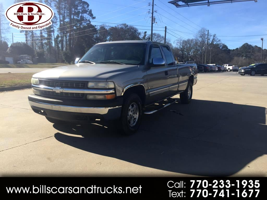 2000 Chevrolet Silverado 1500 3dr Ext Cab 157.5