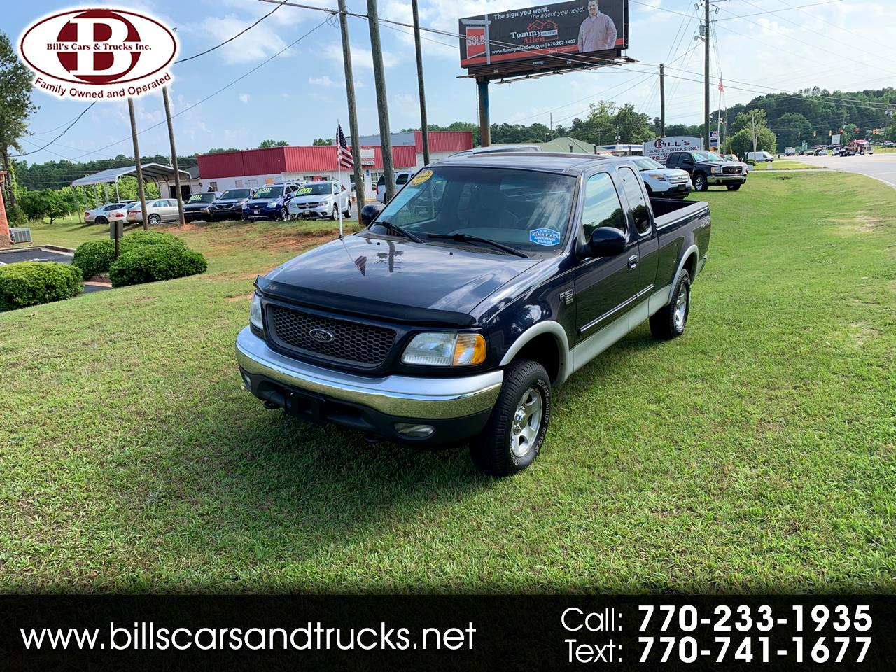 "2003 Ford F-150 Supercab 139"" XLT Heritage 4WD"
