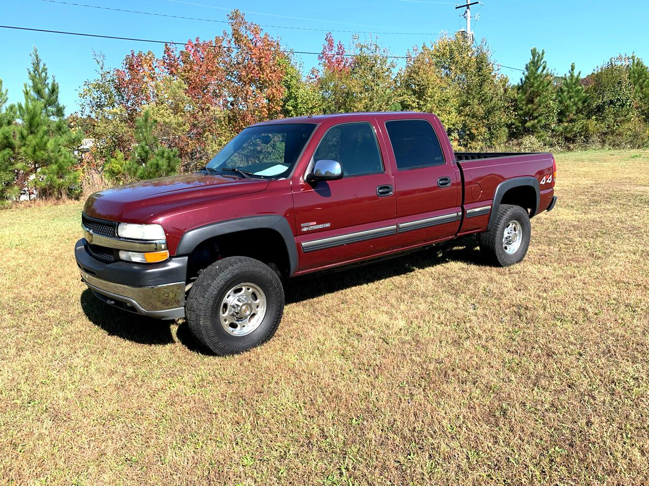 2002 Chevrolet Silverado 2500HD Crew Cab 153