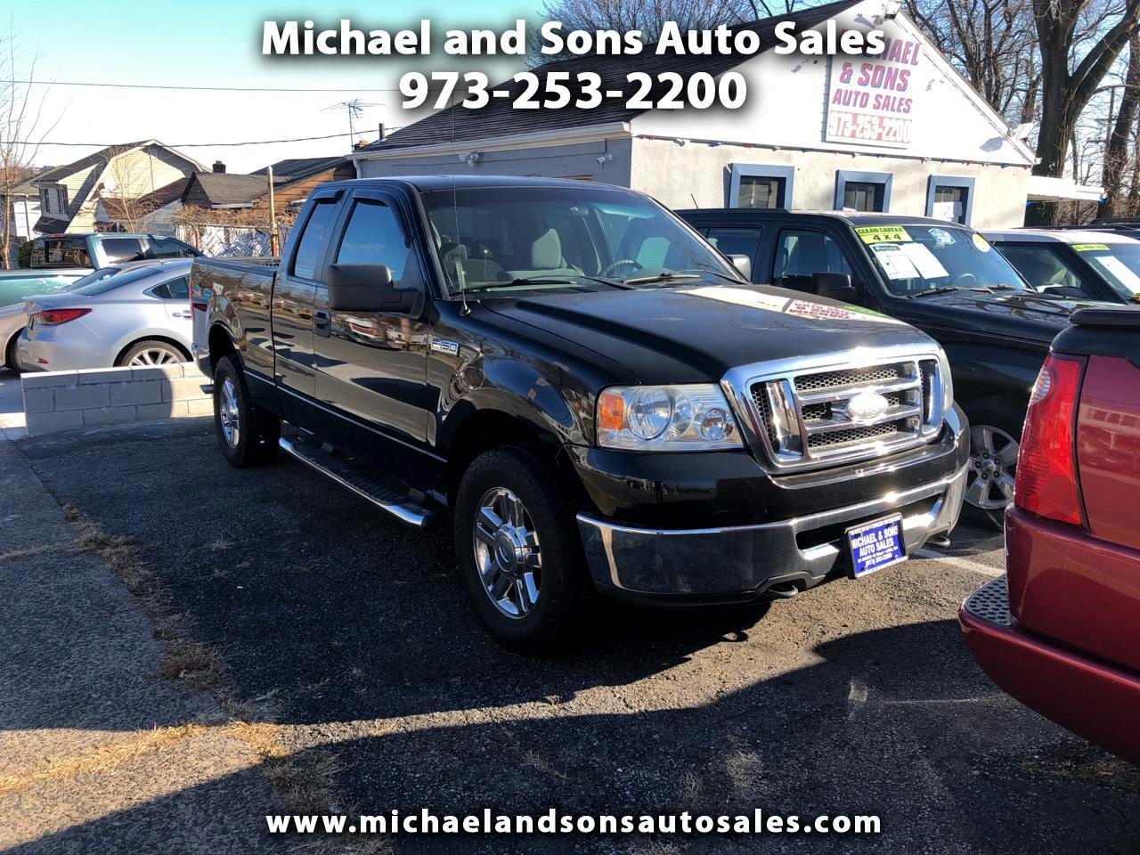 2007 Ford F-150 4WD SuperCab 145