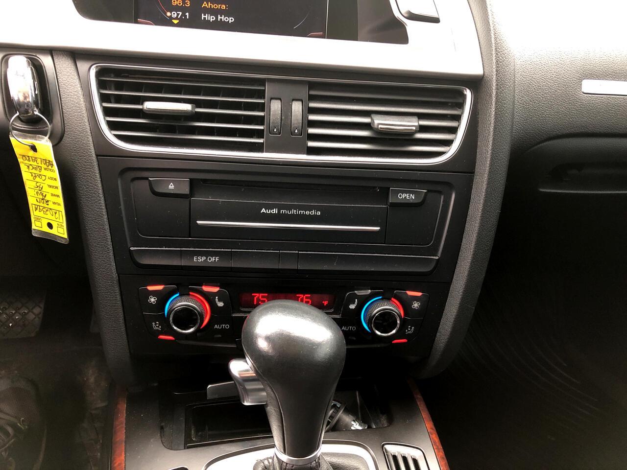 2010 Audi A5 2dr Cpe Auto quattro 2.0L Prestige