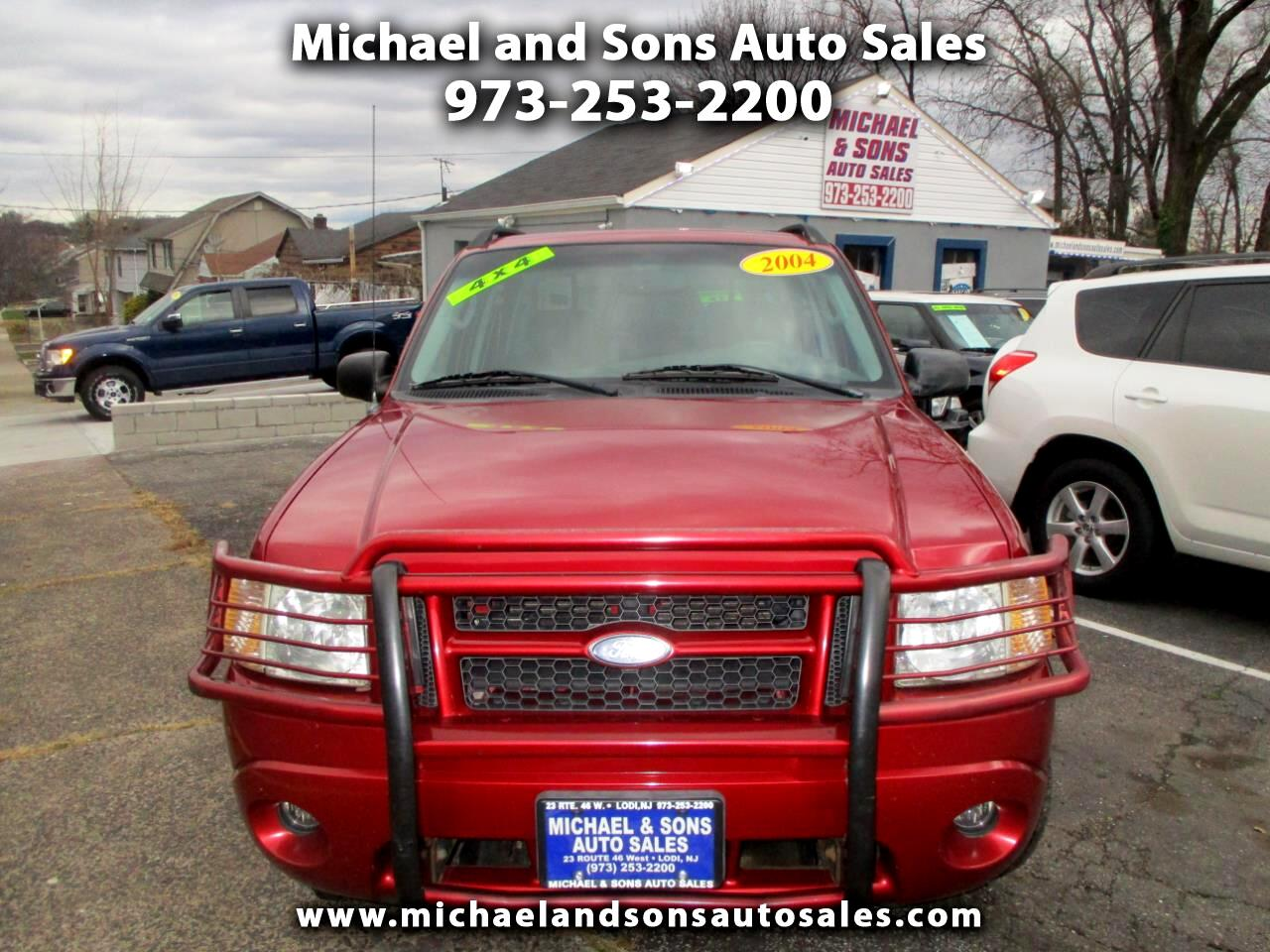 2004 Ford Explorer Sport Trac XLT 4WD