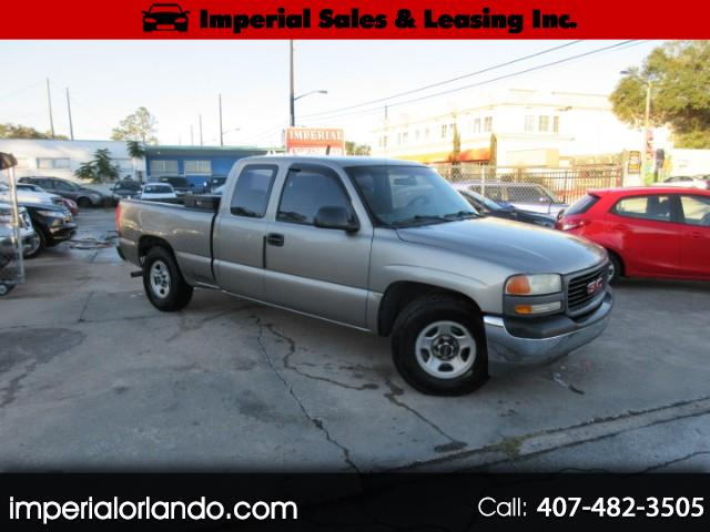 GMC Sierra 1500 SL Ext. Cab Short Bed 2WD 2002
