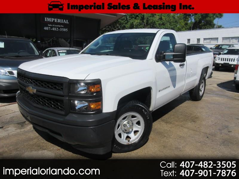 2015 Chevrolet Silverado 1500 Work Truck Long Box 2WD
