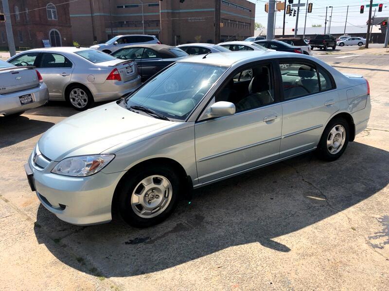 2004 Honda Civic Hybrid Sedan with CVT