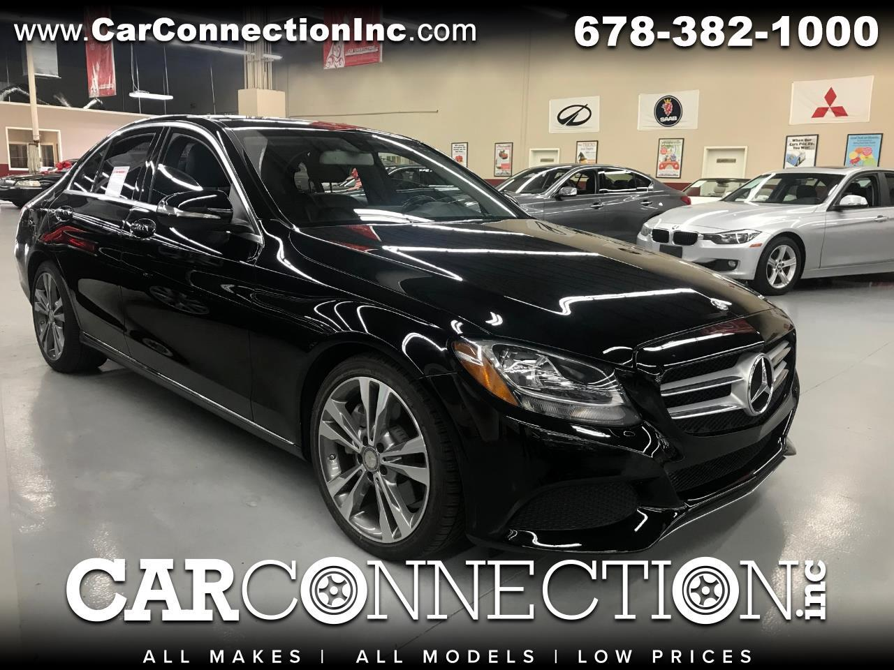 2015 Mercedes-Benz C-Class C 300 Sedan with Luxury Pkg