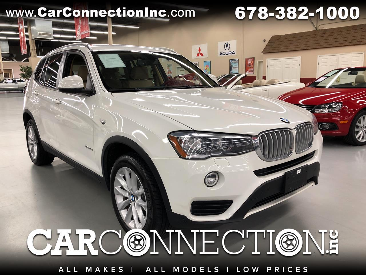 2016 BMW X3 xDrive28i Sports Activity Vehicle