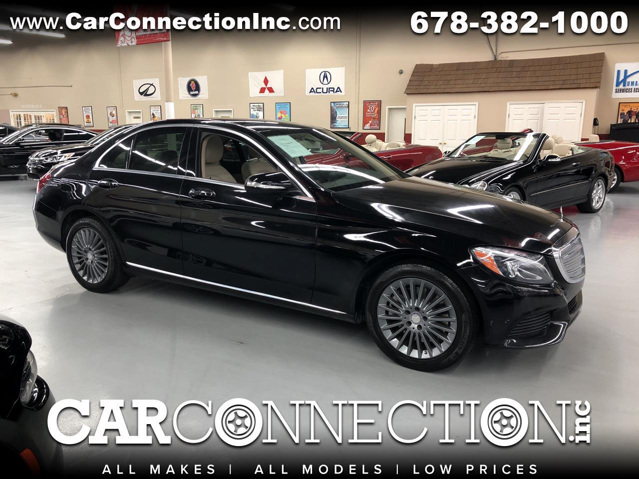 2015 Mercedes-Benz C-Class C300 Luxury Sedan