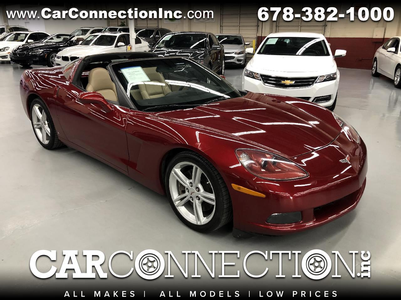 2008 Chevrolet Corvette Z51 3LT Coupe Manual