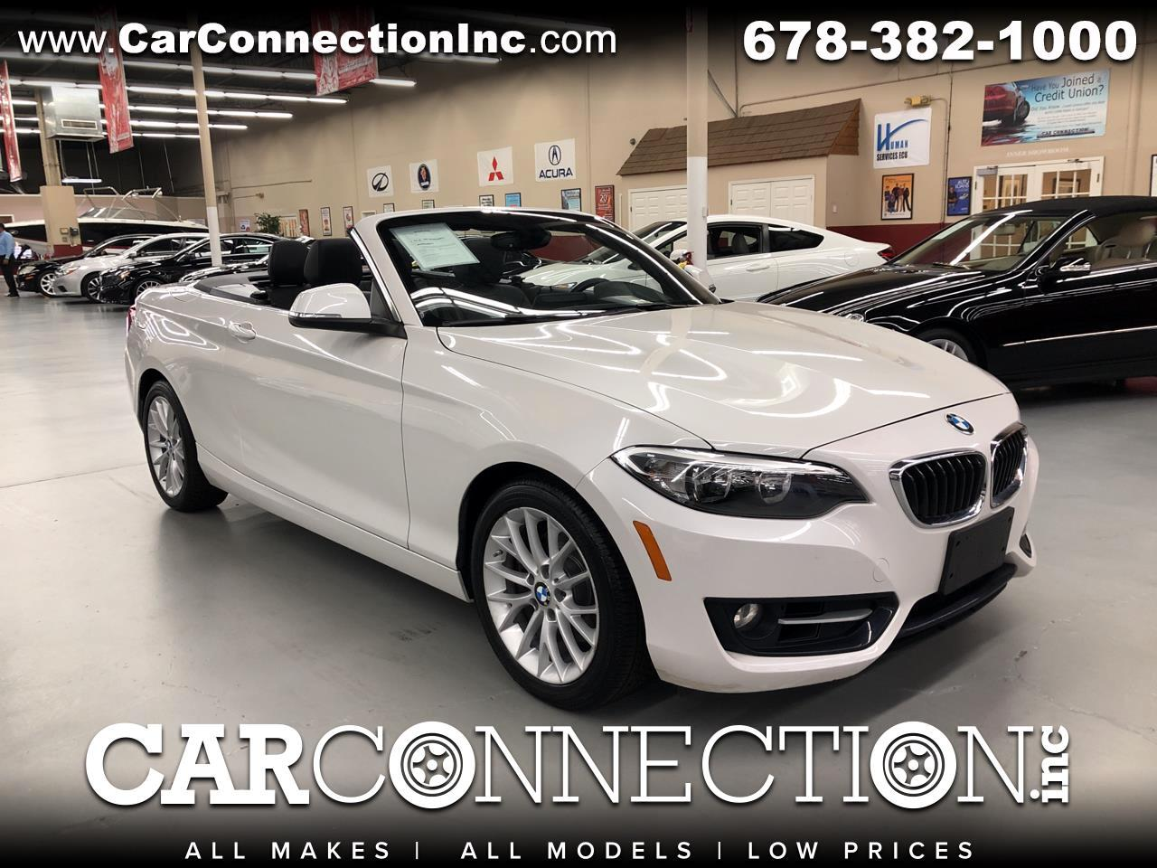 2016 BMW 2 Series 228I Sport Convertible