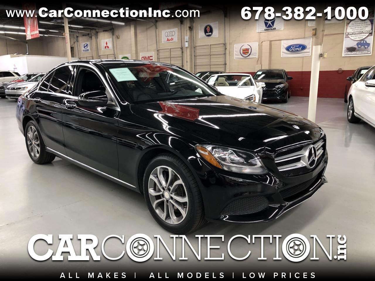 2016 Mercedes-Benz C-Class C300 4MATIC Luxury