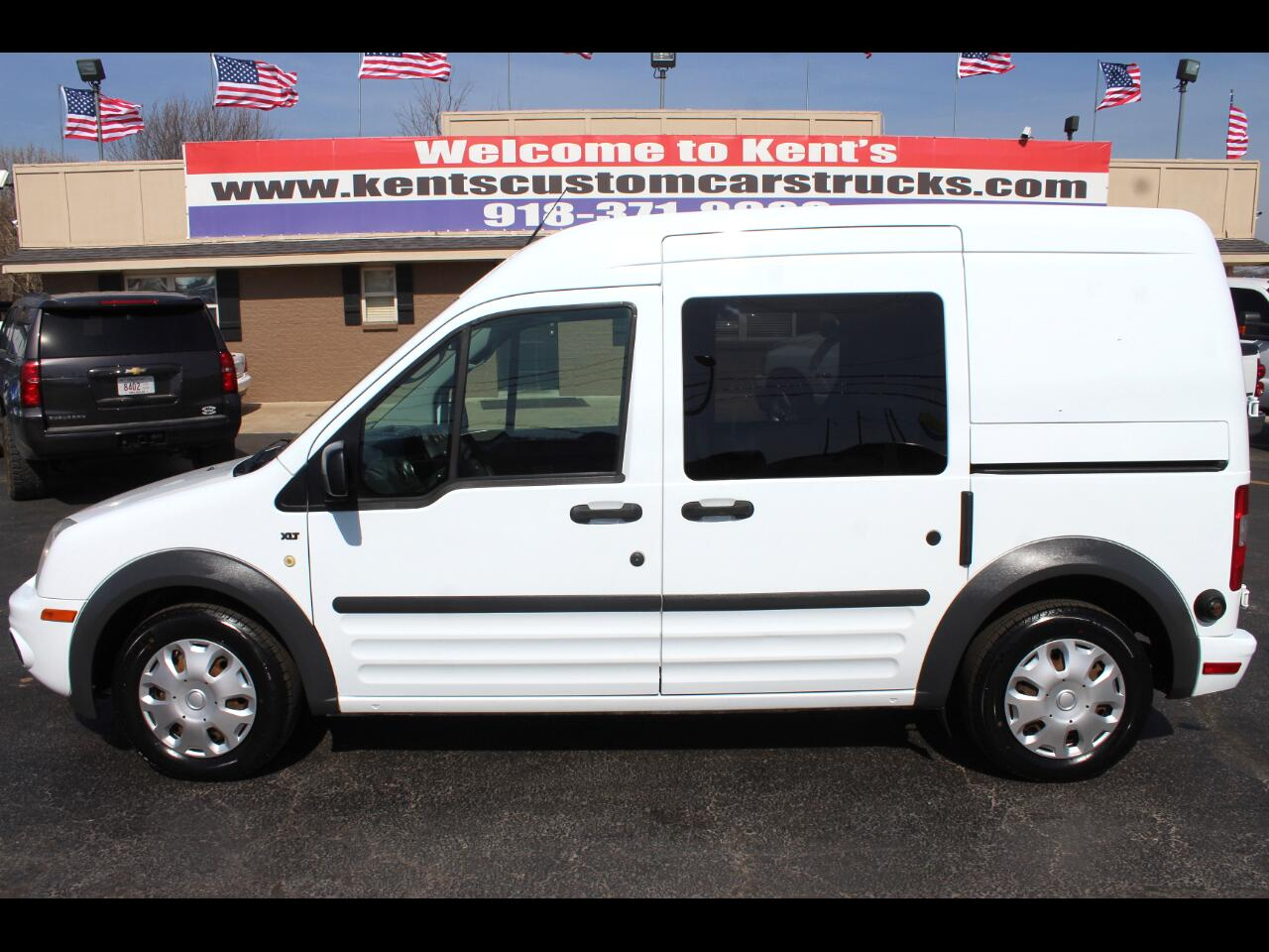 2013 Ford Transit Connect XLT Cargo Mini-Van with Side and Rear Glass