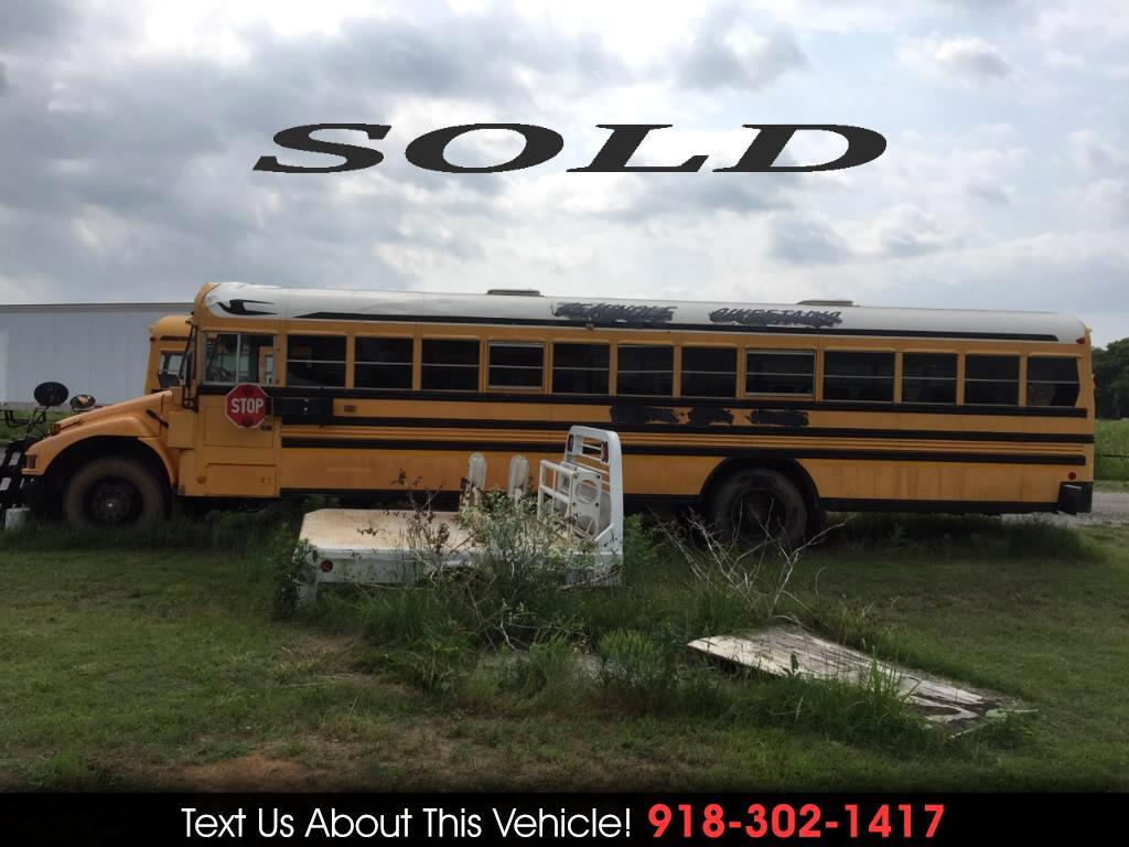 2004 Blue Bird Vision School Bus