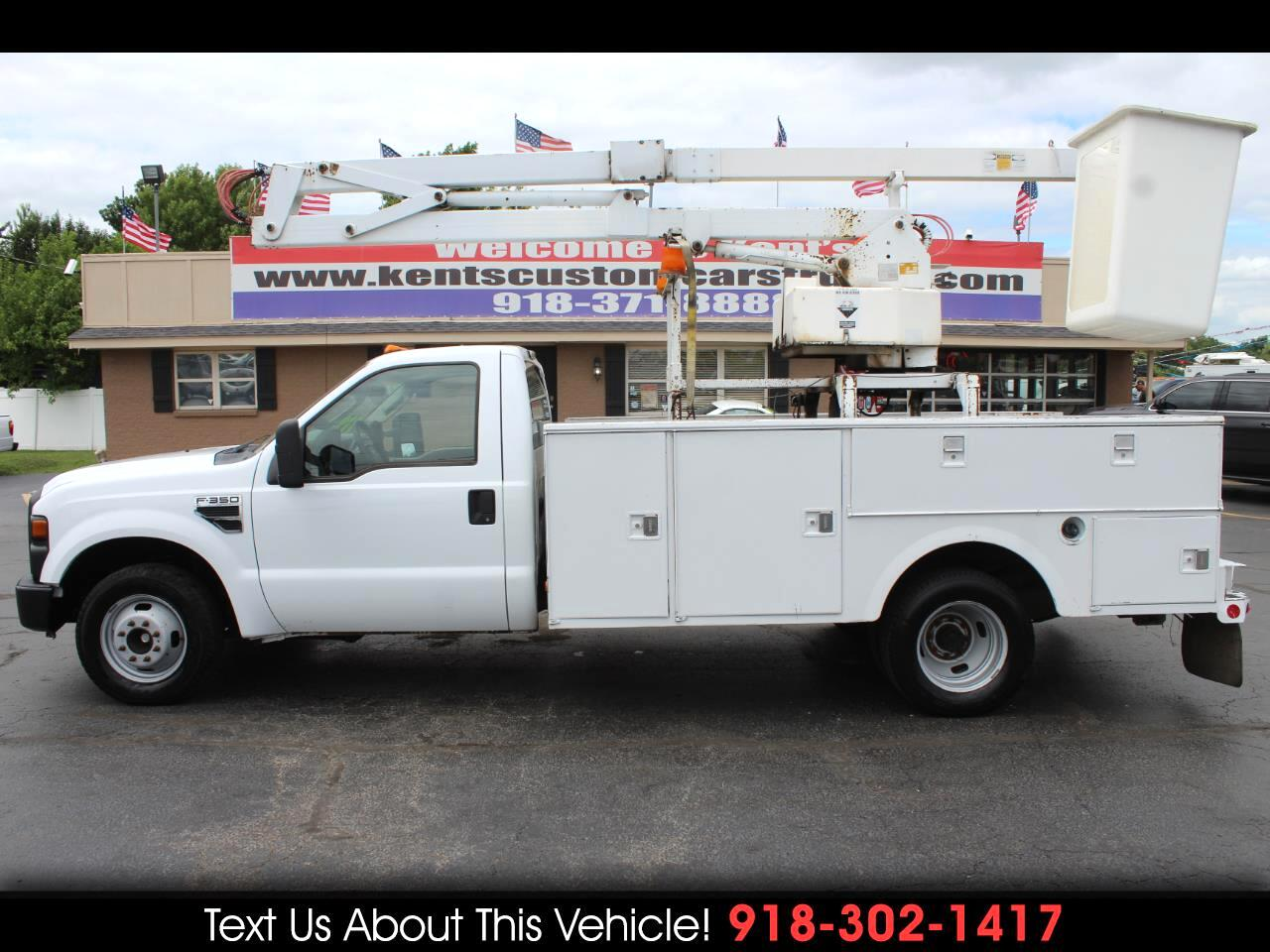 2010 Ford F-350 SD XL Regular Cab DRW 2WD Bucket Truck