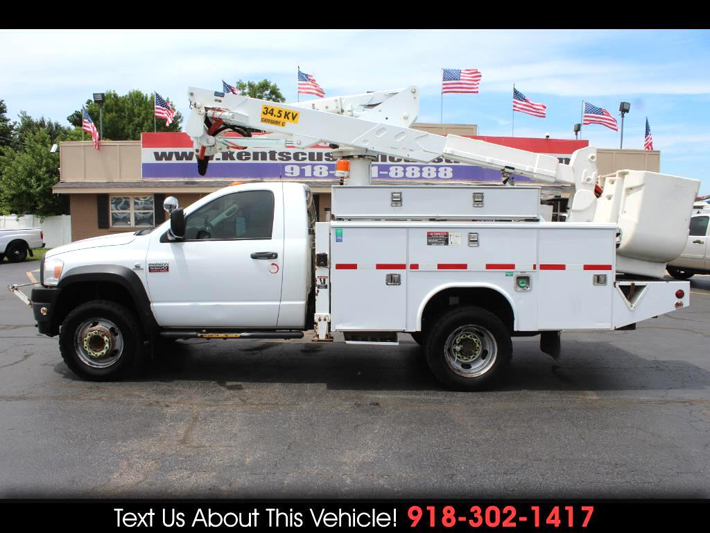 2008 Dodge Ram 5500 Regular Cab DRW 4WD Bucket Truck