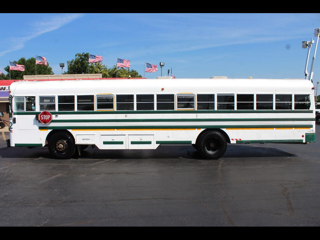 1998 Blue Bird TC2000 School Bus - Transit Bus Series 3605-3706