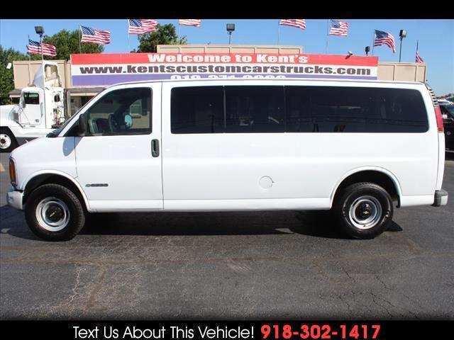 2001 Chevrolet Express 3500 3dr 15 Passenger Van