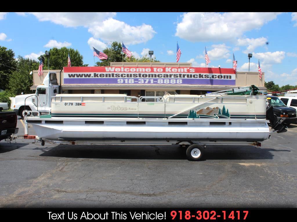 1998 Tahoe Pontoon Boat Aspen 2422