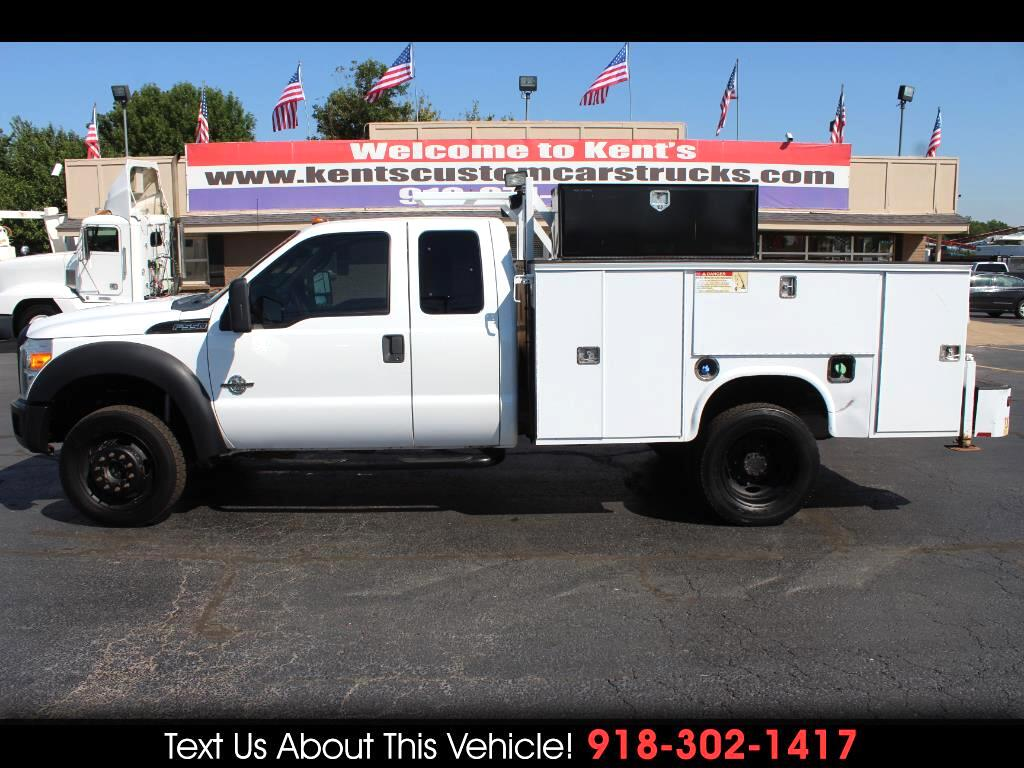 2011 Ford F-550 XL SuperCab DRW 4WD Service Body