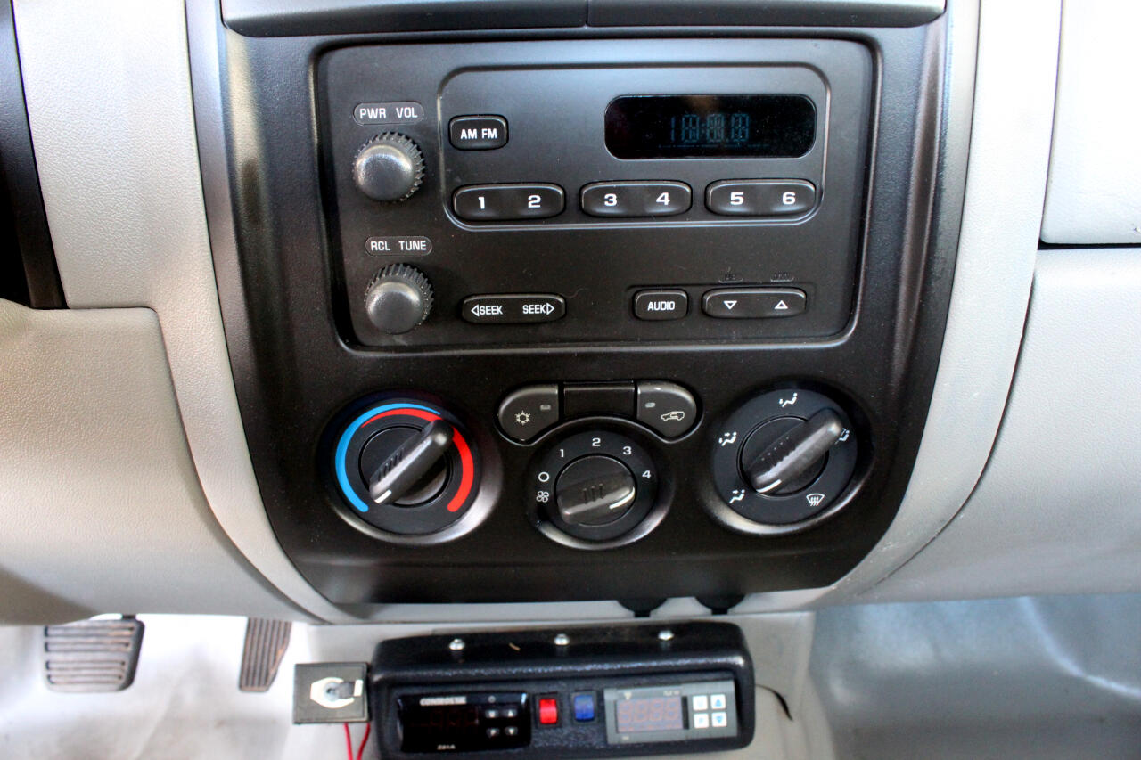 2006 Chevrolet Colorado Regular Cab 2WD Temperature Controlled Bed