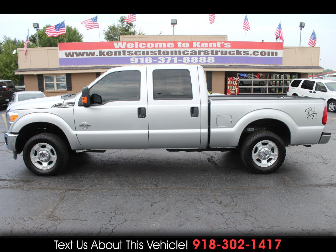 2016 Ford F-250 SD XLT Crew Cab 4WD 6.8 ft. Short Bed