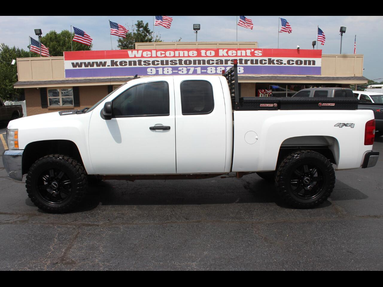 2008 Chevrolet Silverado 2500HD LT1 Extended Cab 4WD Short Bed