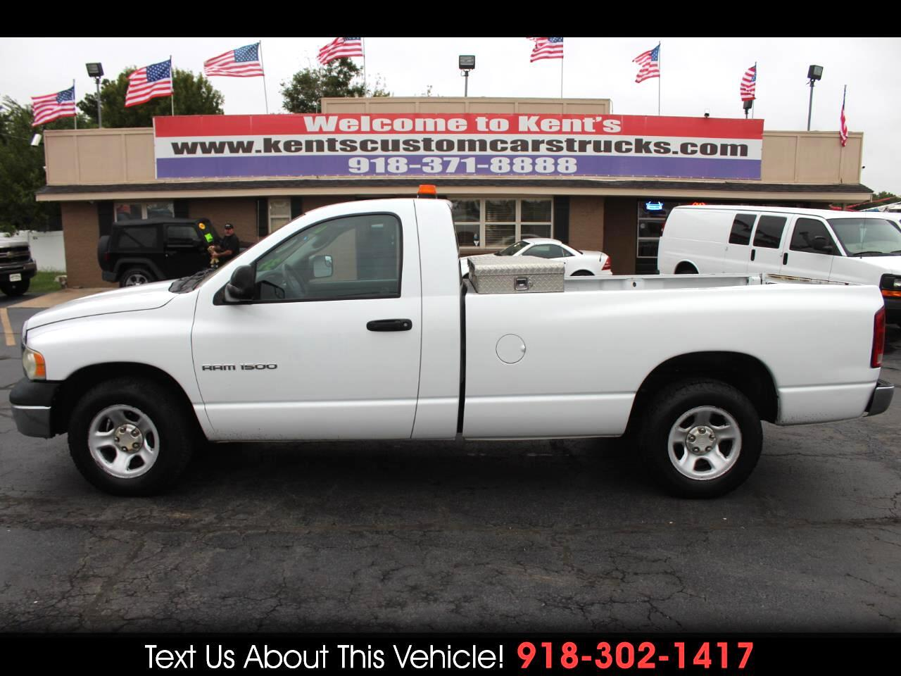 2003 Dodge Ram 1500 ST Regualar Cab 2WD Long Bed