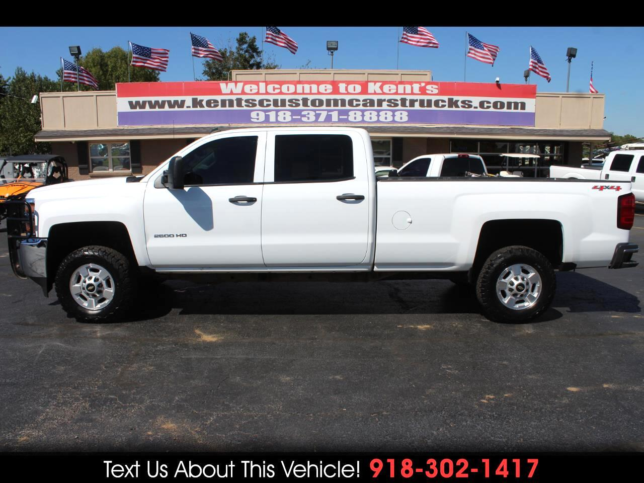 2015 Chevrolet Silverado 2500HD LT Crew Cab 4WD Long Bed