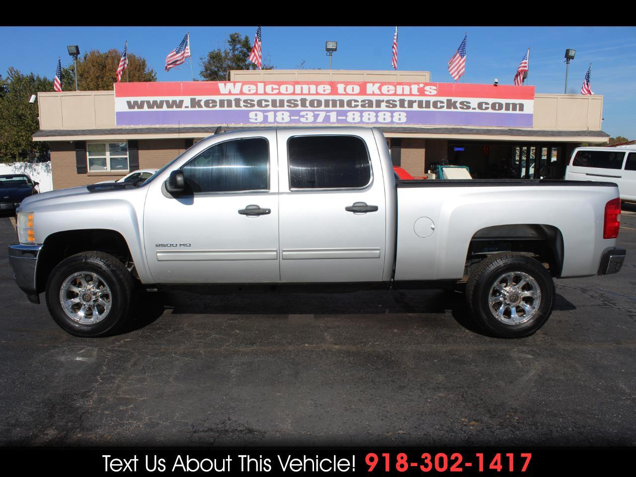 2011 Chevrolet Silverado 2500HD LT Crew Cab 4WD Short Bed w/Z71